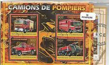 """Lot de 10 blocs thematique """" Pompiers"""""""