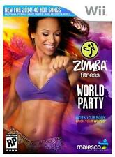 Zumba Fitness World Party Nintendo Wii Video Game Only