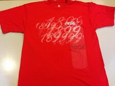 Coca Cola 1899 Limited Edition T Shirt Tee Red White XL Gently Used
