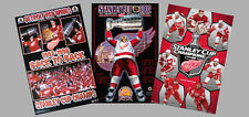 Detroit Red Wings STANLEY CUP CHAMPIONS 3-Poster Combo - 1997, 1998, 2002, 2008!