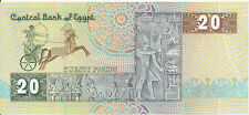Ägypten / Egypt - 20 Pounds 3. 8. 1997 aUNC - Pick 52c