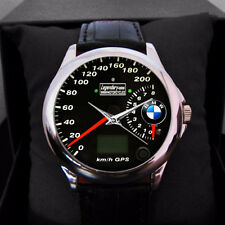 BMW logo speedometer Sport Metal watches men's & women