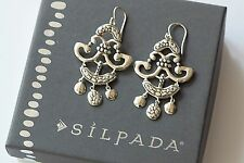 "Silpada Sterling Silver Filigree ""Fancy That"" Dangle Chandelier Earring W3190"