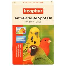 Beaphar Anti Parasite Spot On For Budgies Roundworms Feather Lice Mites