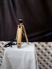 MODERN-TRIPOD-TABLE-LAMP-FLOOR-LAMP-STAND-TEAK-WOOD-HAND-MADE-LAMP