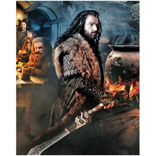 The Hobbit Richard Armitage as Thorin Holding Sword 8 x 10 Inch Photo