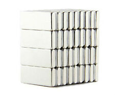 100pcs Neodymium 10 x 5 x 2 mm Strong Square Cuboid Block Magnet Rare Earth N52