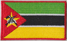 Mozambique Country Flag Embroidered Patch T4