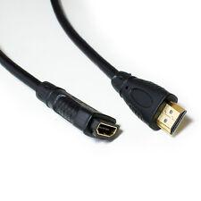3m HDMI Cable de extensión-Alta Velocidad, Ethernet y 4K Macho a Hembra HD Zócalo De Plomo