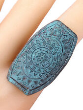 patina boho stretch ring free size