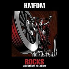 KMFDM - ROCKS-MILESTONES RELOADED  2 VINYL LP NEU