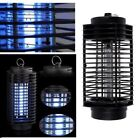 110V/220V Electric Mosquito Fly Bug Insect Zapper Killer With Trap Lamp Blac  K4