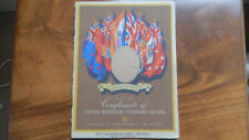 Commemorative Coronation Book of Advertising Blotting Paper EDWARD VIII (1937)