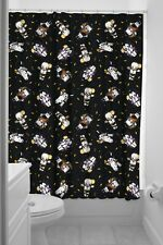 Sourpuss Monster Kewpies Shower Curtain & Rings Retro Halloween New