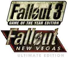Fallout 3 GOTY + Fallout New Vegas Ultimate PC [Steam CD Keys] No Disc, no VPN