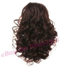 Curly Scrunchies Bride's Hair Extension Bun Hairpiece Black / Brown Easy to use
