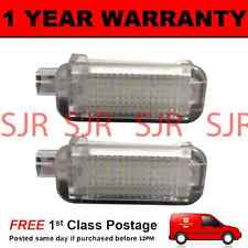 2X FOR AUDI A4 S4 A5 S5 RS5 RS4 A1 A7 S7 A8 S8 18 LED FOOTWELL COURTESY LAMP