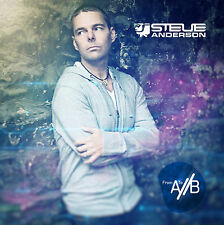 "Steve Anderson ""From A/ To /B"" Trance & Progressive Double Album 2 x Vinyl & 2CD"