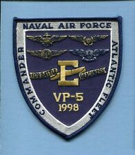 VP-5 MAD FOXES BATTLE E 98 NAVY LOCKHEED P-3 ORION Patrol Squadron Jacket Patch