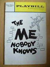1970 PLAYBILL HELEN THEATRE Programme:THE ME NOBODY KNOWS by ROBERT H LIVINGSTON