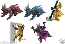 BANDAI Capcom Monster Hunter Gashapon Figure (Set 5 pcs)