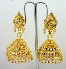 Indian Ethnic Bollywood Gold Plated Jhumka Jhumki Costume Jewellery Earrings