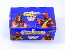 1991 TitanSports WWF Superstars Sticker Pack Box (100 Packs) ^ Hulk Hogan