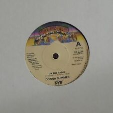 "DONNA SUMMER 'ON THE RADIO' UK 7"" SINGLE"