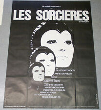 Affiche de cinéma : LES SORCIERES de PASOLINI/DE SICA/ROSSI/VISCONTI/BOLOGNINI