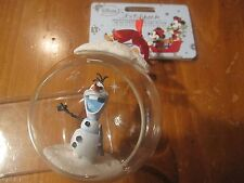NWT Disney Store Frozen Olaf  Glass Globe Sketchbook Christmas Holiday Ornament