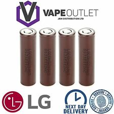 4 x LG HG2 18650 3000mAh 20/30A High Drain IMR Rechargeable Li on VAPE Batteries
