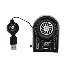 Mini Vacuum USB Cooler Air Extracting Cooling Fan for Notebook Laptop TB