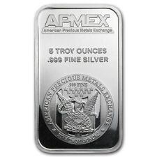 5 oz APMEX Silver Bar - SKU #40249
