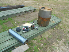 MILITARY SURPLUS TENT SPACE HEATER LIQUID FUEL TYPE II DIESEL STOVE HUNTING ARMY