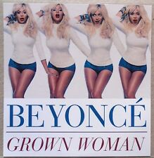 BEYONCE * GROWN WOMAN - REMIXES * EURO 7 TRK PROMO * HTF! * PEPSI