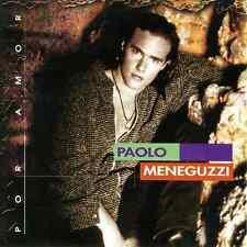 """PAOLO MENEGUZZI """"Por Amor"""" NEW SEALED CD * Songs in Spanish & Italian * 1997"""