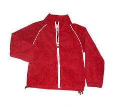 Gymboree Candy Apple Patriotic Terry Cloth Red Jacket 5