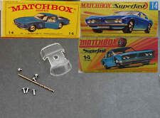 Matchbox 14 Iso Grifo Window Unit + Drill Rivets & Screws RW & Superfast