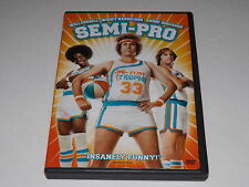 Semi-Pro (DVD, 2008) Widescreen And Full Screen Edition, Dolby Digital EX Audio