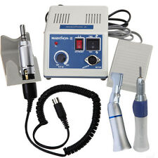Dental Lab Electric Micromotor Polishing N3 Straight Contra Angle Handpiece in