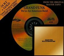 24K Gold CD We're American Band  Grand Funk Railroad Audio Fidelity Sealed