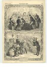 1855 Christmas Games Forfeits Blind Man's Buff Oranges Lemons Hunt Slipper