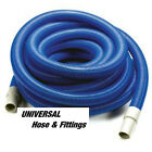 "SHOP VAC INDUSTRIAL VACUUM HOSE 2"" X 15' WITH CUFF BLUE"