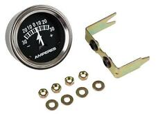 """30 Amp Ammeter Gauge Universal 2"""" Hole for Tractors Including Case IH Farmall"""