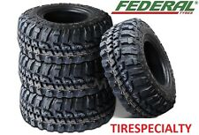 4 BRAND NEW 31X10.50R15  FEDERAL COURAGIA MT OWL MUD TIRE OFFROAD 4X4 31105015