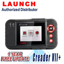 Launch Creader VII+ OBD2 diagnostic Scan tool Transmission ABS Airbag SRS Engine