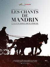 Affiche 40x60cm LES CHANTS DE MANDRIN 2012 Jacques Nolot, Milia-Darmezin NEUVE