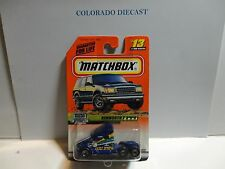 Matchbox #13 Blue Kenworth T-2000 Semi