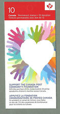 CANADA 2012 Booklet - SUPPORT CANADA POST - 10 x Permanent - Complete MNH