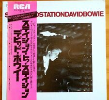 Mega Rare David Bowie Station to Station RVP6027 Japan Import LP OBI 6Track MINT